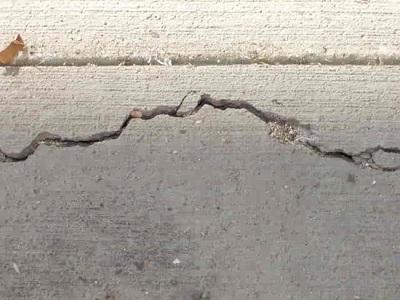 cracked-concrete repairs